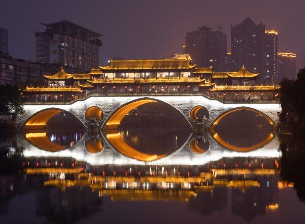 Anshu bridge Chengdu