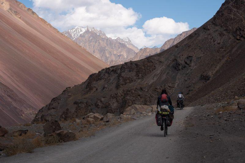 cycling bartang valley