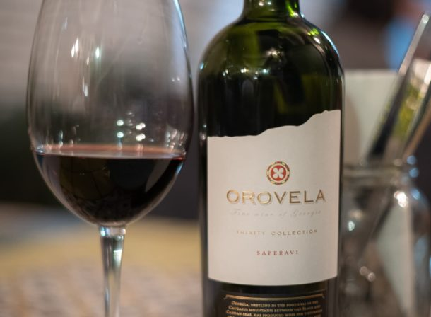Orovela georgian wine