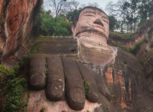 Giant Buddha Leshan China