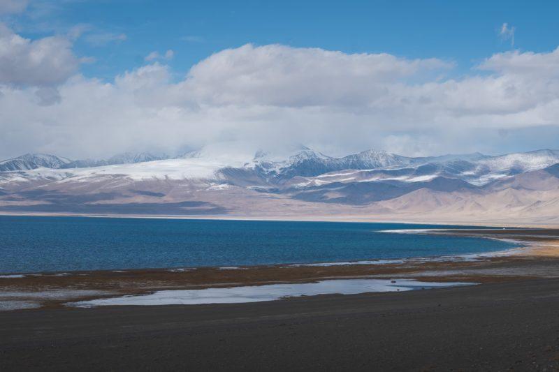 Karakul lake Tadjikistan
