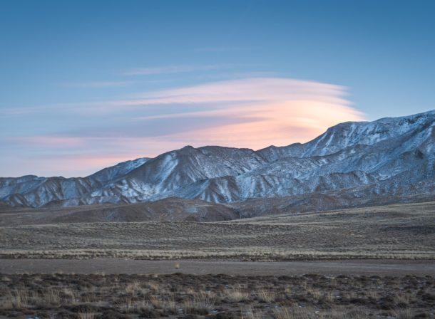 tibetan plateau sunset china