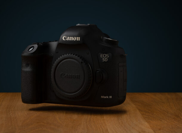 Canon 5D Mark III Product Photo