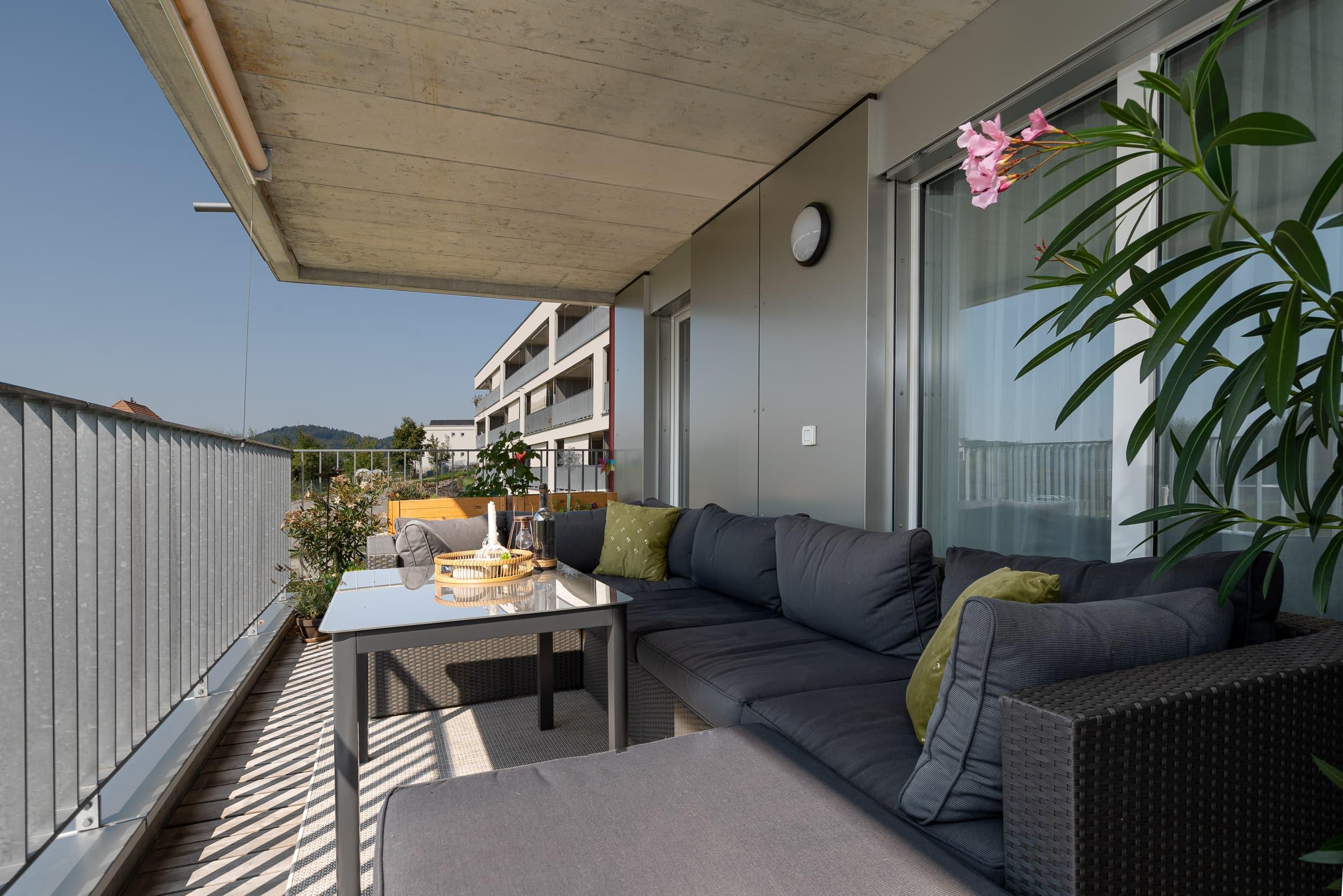 Neubauwohnung Sommerrain Ostermundigen - Balkon