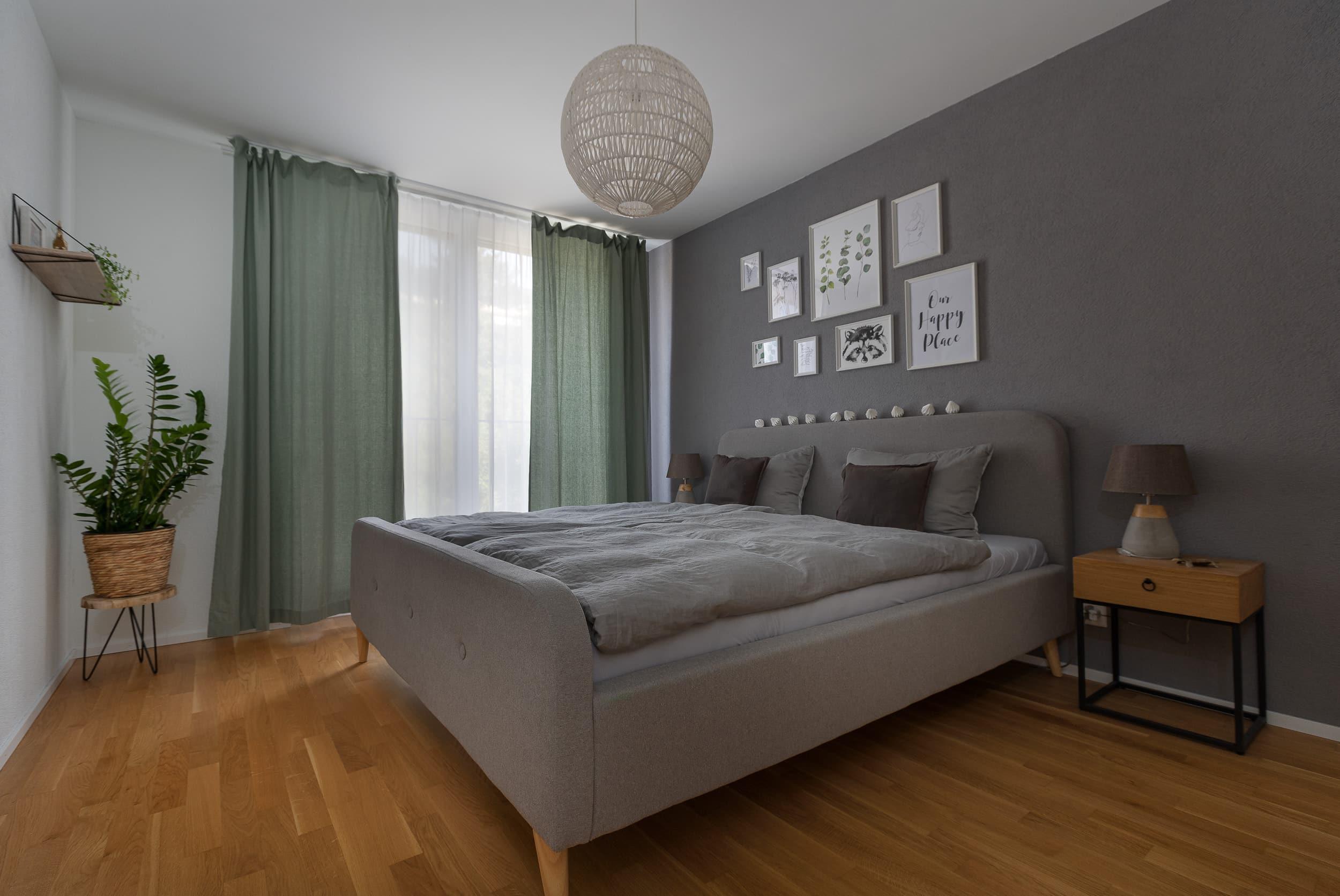 Neubauwohnung Sommerrain Ostermundigen - Schlafzimmer