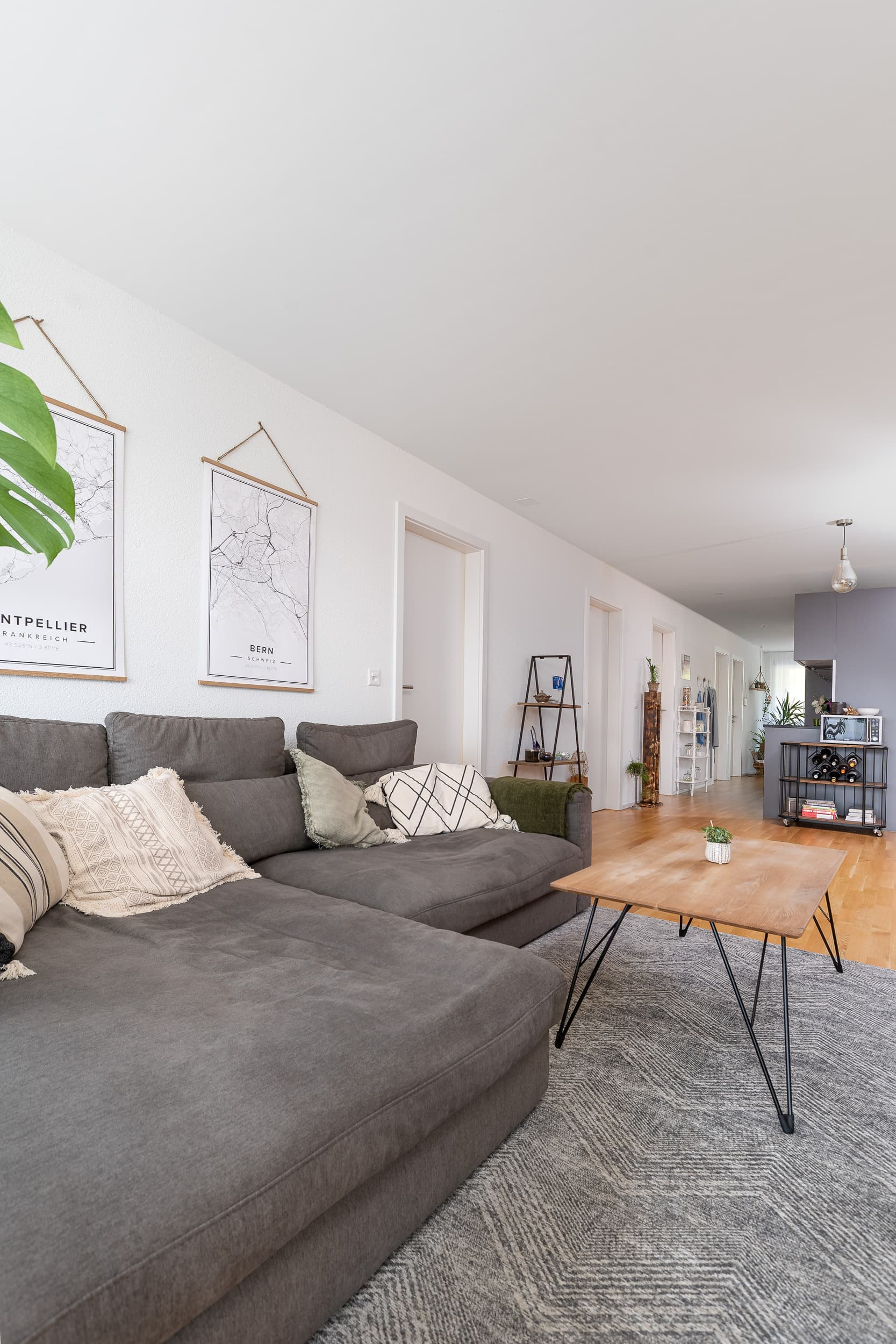 Neubauwohnung Sommerrain Ostermundigen - Wohnbereich