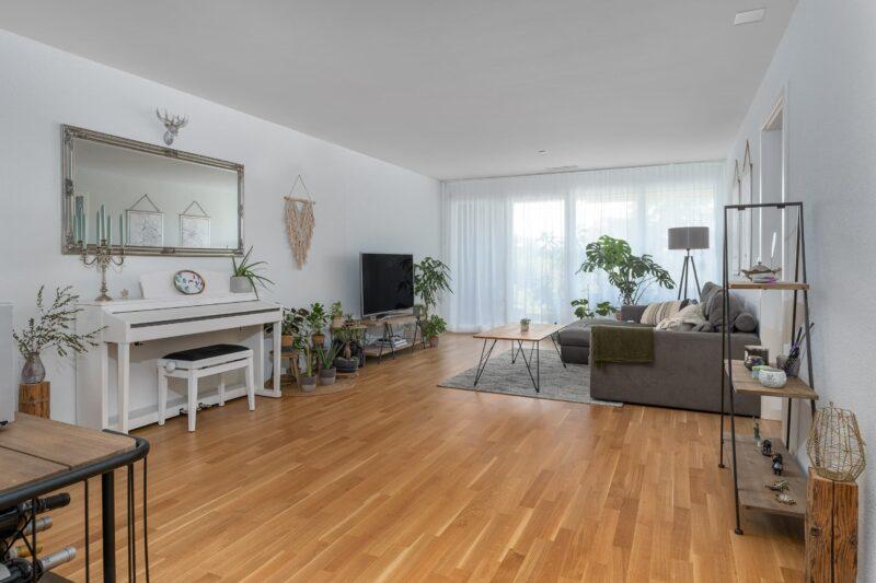 Neubauwohnung Sommerrain Ostermundigen - Essbereich