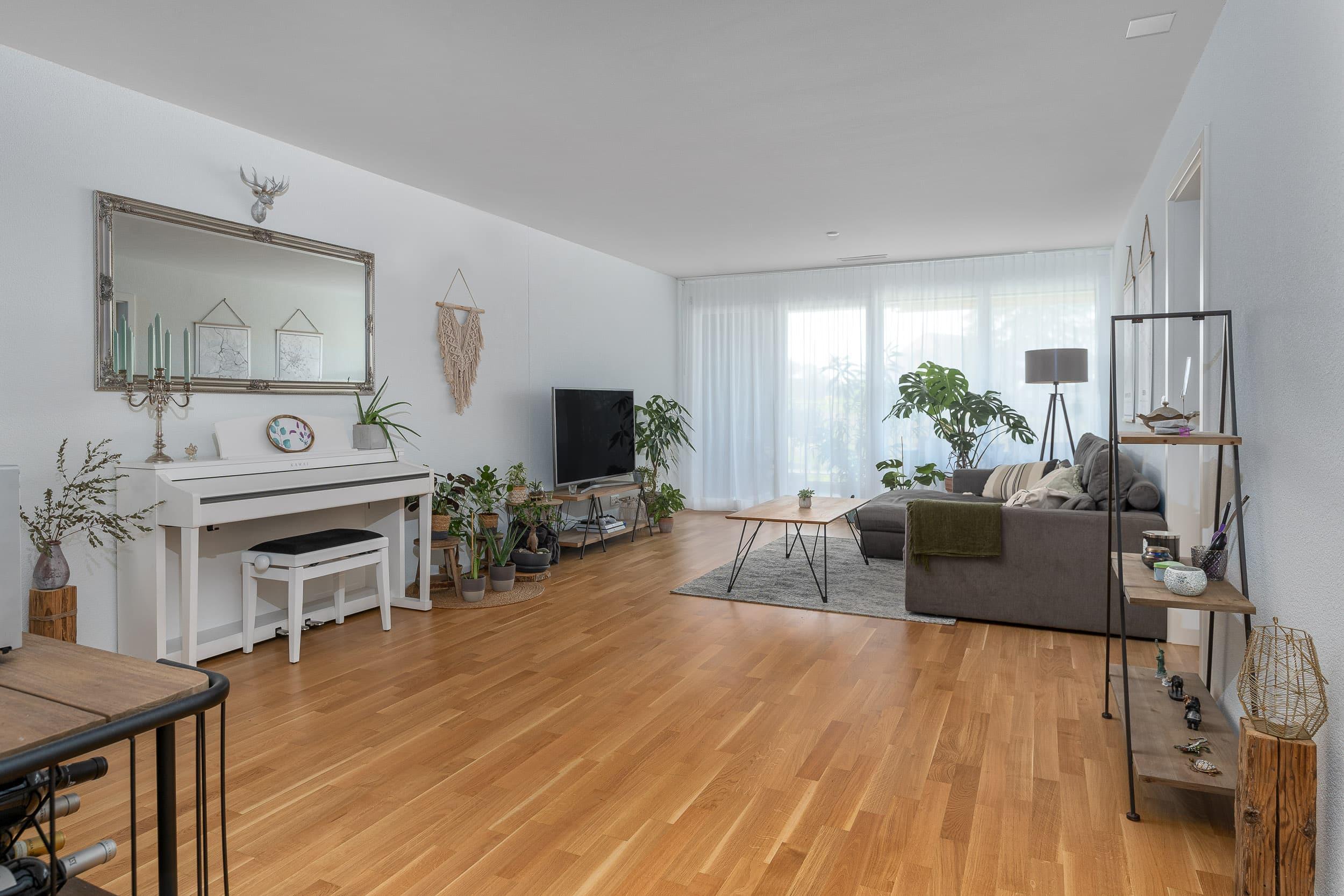 Neubauwohnung Sommerrain Ostermundigen - Wohnraum