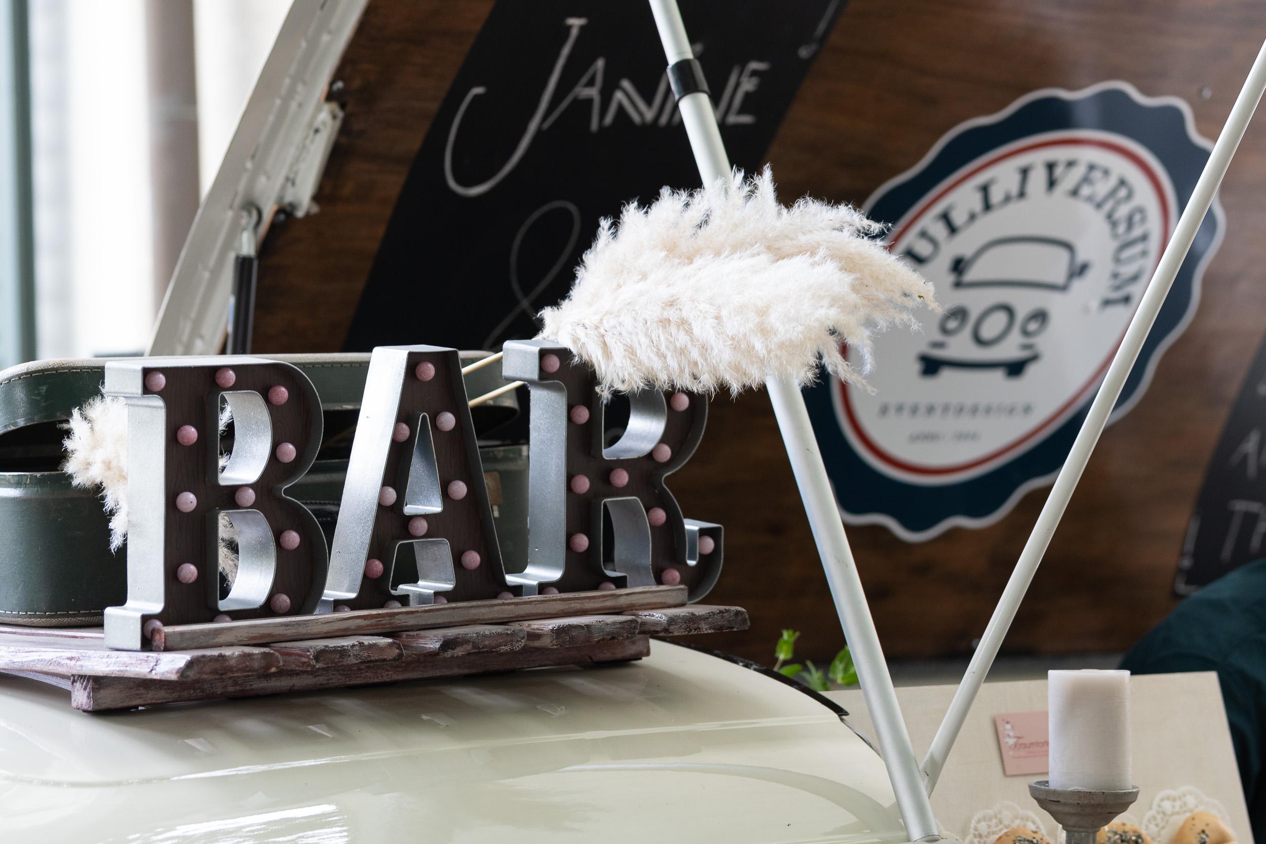 Bulliversum Hochzeitsmesse Bar